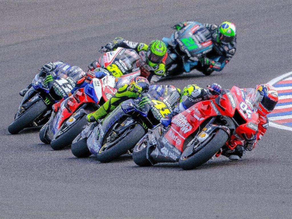 MotoGP Argentina: Marquez Berkuasa, Rossi vs Dovizioso Seru!