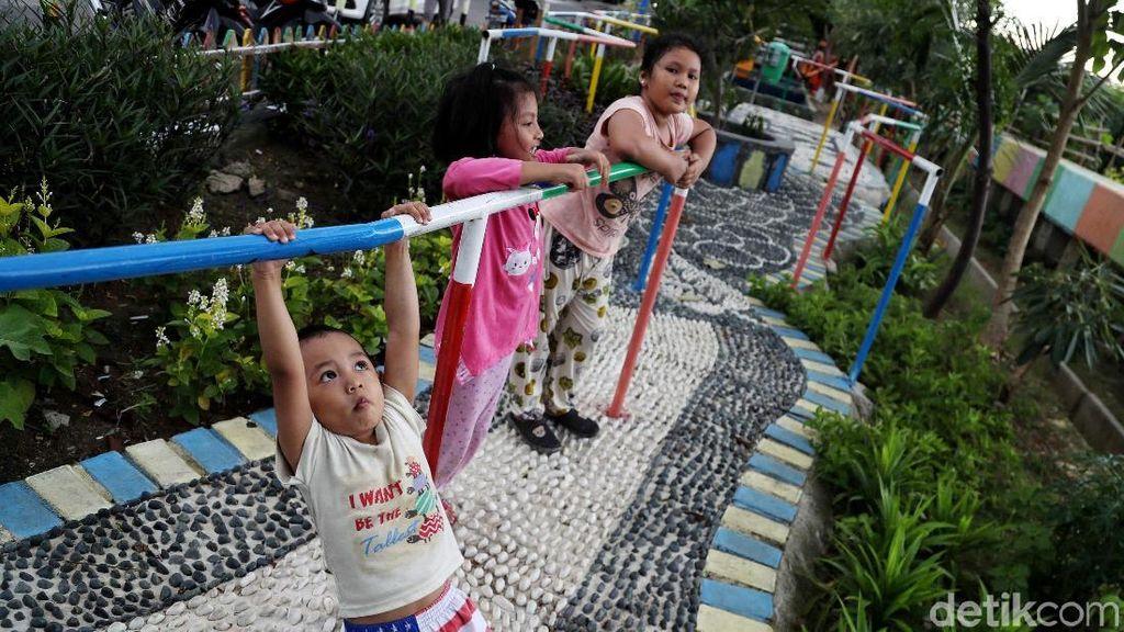 Taman Kreatif Rawa Badak di Jakut Asri Banget