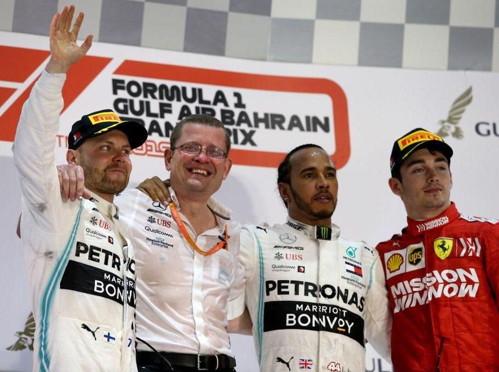Klasemen F1: Bottas Masih Teratas, Hamilton Membayangi