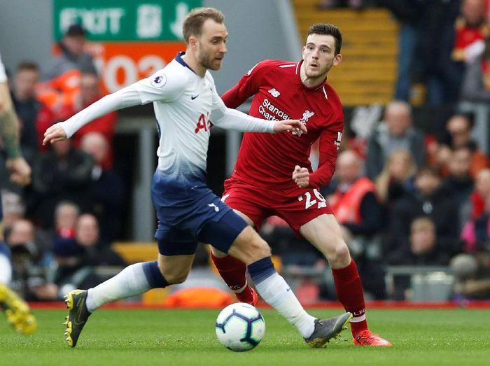 Tottenham Hotspur vs Liverpool di Liga Inggris. (Foto: Paul Childs/Action Images via Reuters