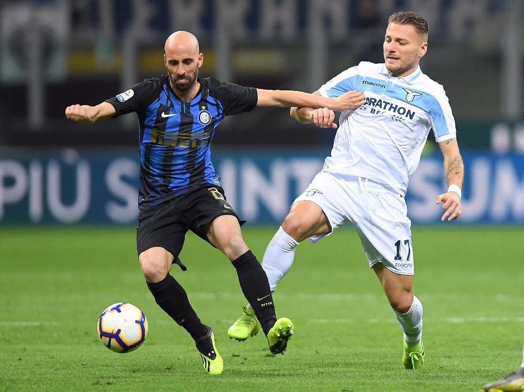 Lupakan Kekalahan dari Lazio, Inter Tatap Genoa
