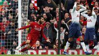 Menang Dramatis atas Tottenham, Liverpool Puncaki Klasemen Liga Inggris