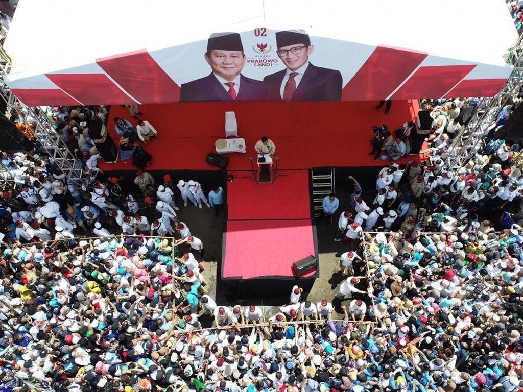 Infrastruktur Jokowi Jadi Bahan Iklan Kampanye Prabowo