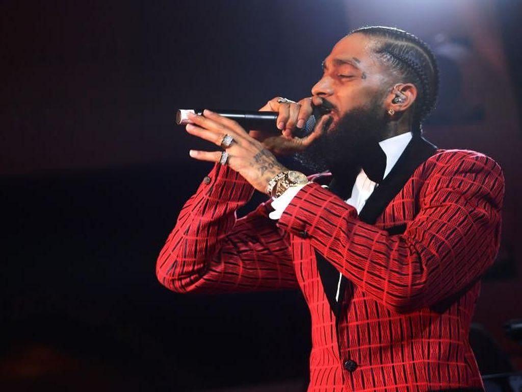 Pernah Duet, Kendrick Lamar Beri Penghormatan untuk Nipsey Hussle