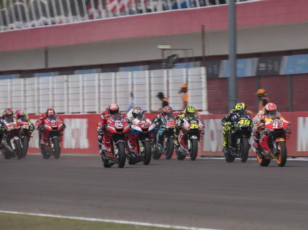 Marquez Tanpa Cela di MotoGP Argentina