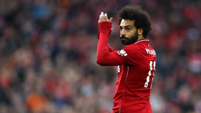 Real Madrid membidik Mohamed Salah di bursa musim panas? (Foto: Clive Brunskill/Getty Images)