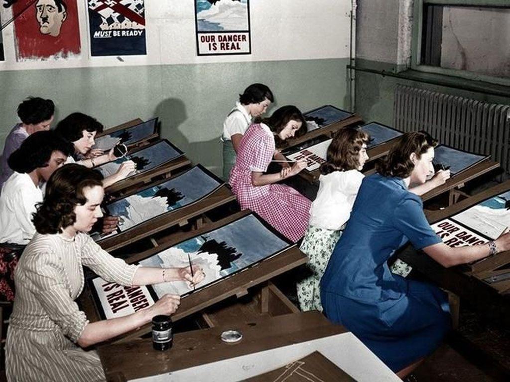 Keren! Foto Sejarah Hitam Putih Jadi Berwarna Berkat Teknologi