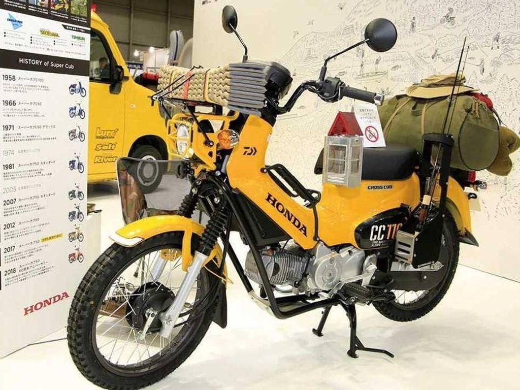 Motor Bebek Honda Buat Terabas Segala Medan