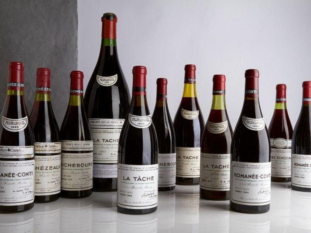 Penjual Misterius Dalam Lelang Wine di Hong Kong Jual Hampir 17 Ribu Botol Wine