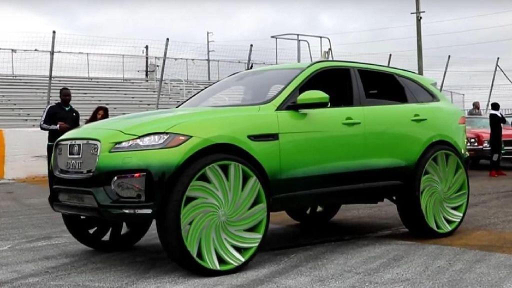 Sadis! Pelek Raksasa Jaguar Ini 32 Inci