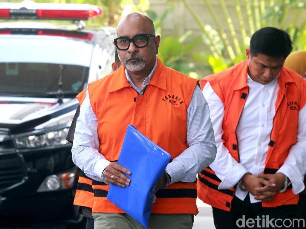 Alexander Muskitta Diperiksa KPK Terkait Suap Krakatau Steel