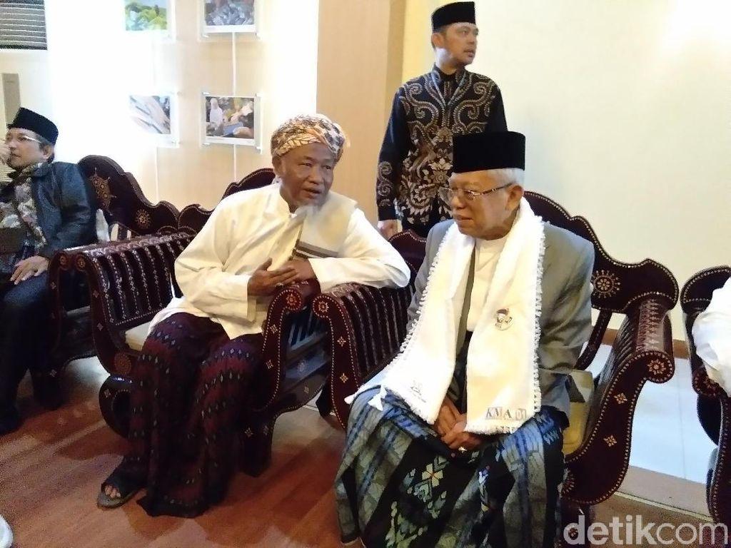 Maruf Amin Pernah Galau, Curhat ke Megawati soal Kostum Pilpres