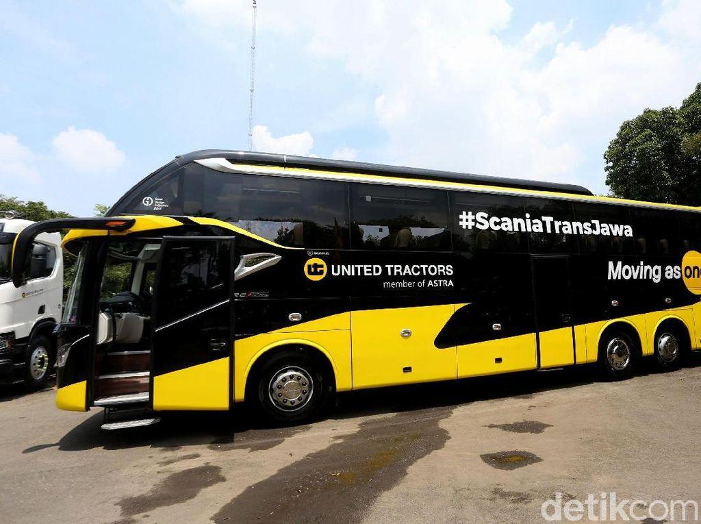 Cara Scania Lacak Sopir Bus Nakal