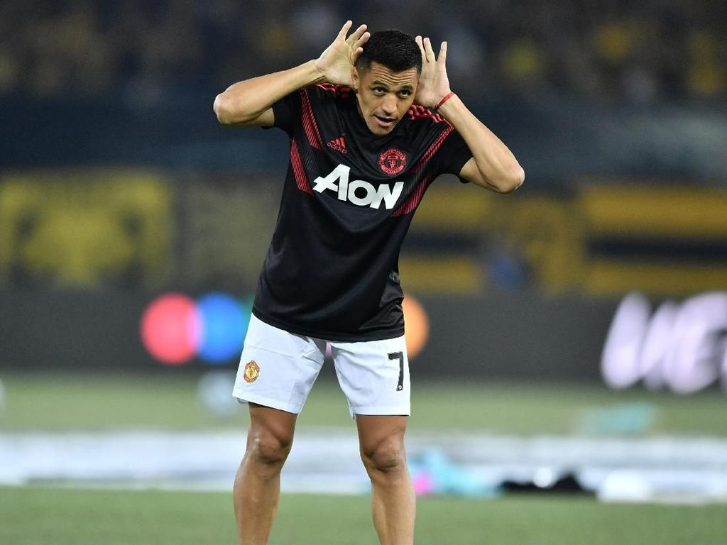Alexis Sanchez vs Man City: Main 16 Menit, Sekali Sentuh Bola, Dibayar Rp 1,3 M