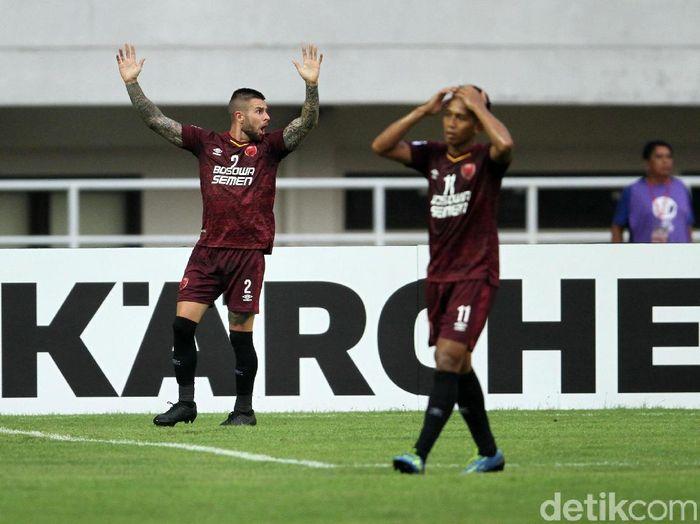 Pemain PSM Makassar di AFC Cup. (Foto: Rifkianto Nugroho/Detikcom)