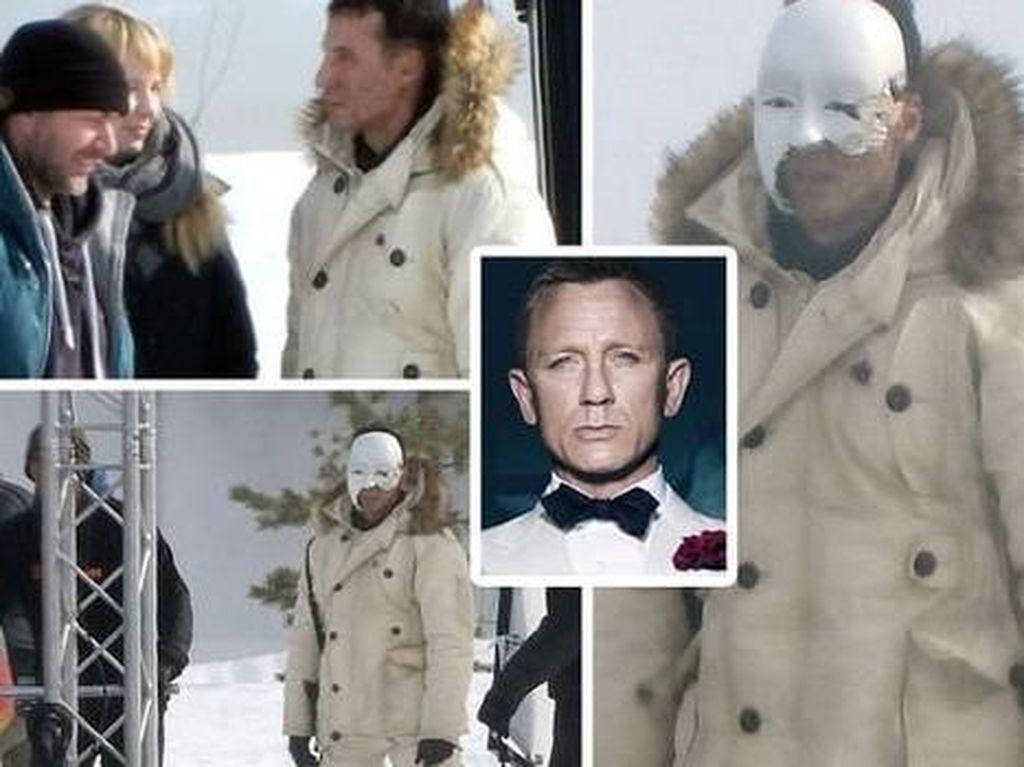 Foto Perdana Syuting Bond 25 Bocor