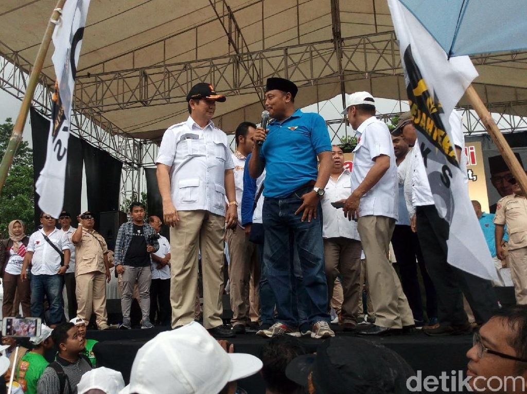 Hashim dan Jamal Mirdad Buka Kampanye Akbar Prabowo di Salatiga