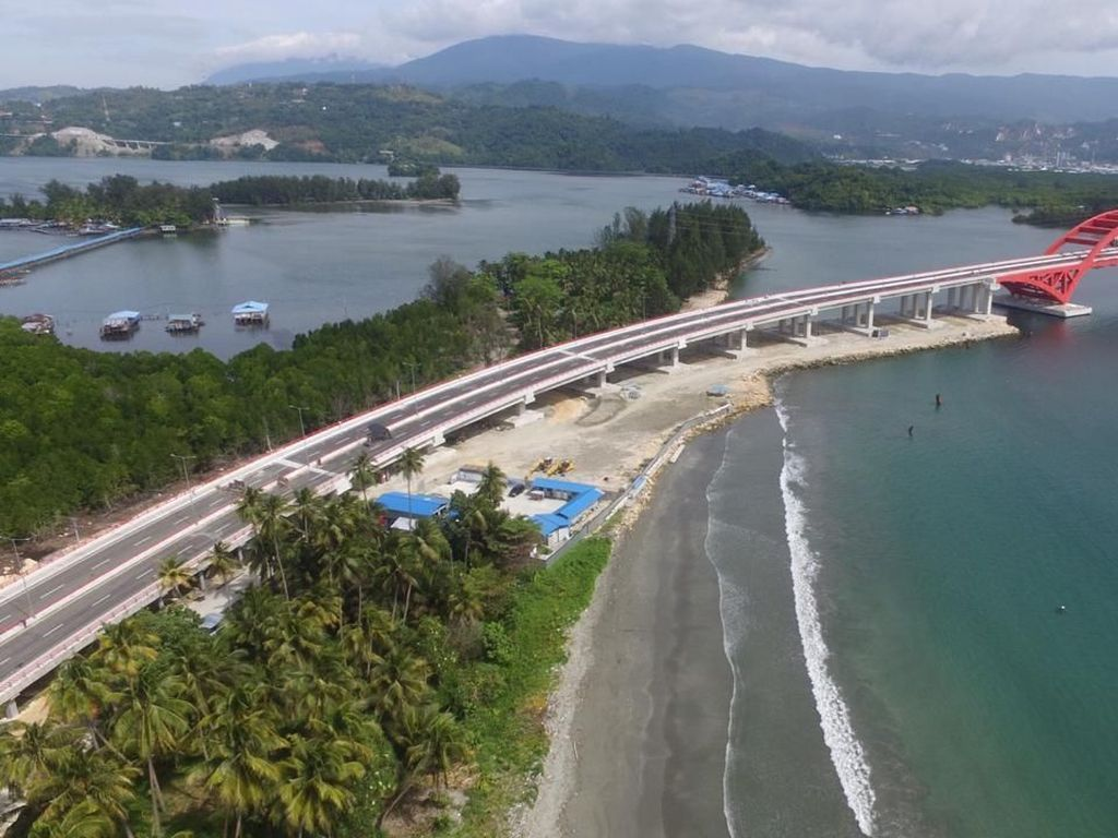 Megah! Jembatan Holtekamp Papua Diresmikan Juli 2019