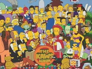 Wah! Lukisan KAWS Ala The Simpsons Ini Terjual di Hong Kong Rp 210 Miliar