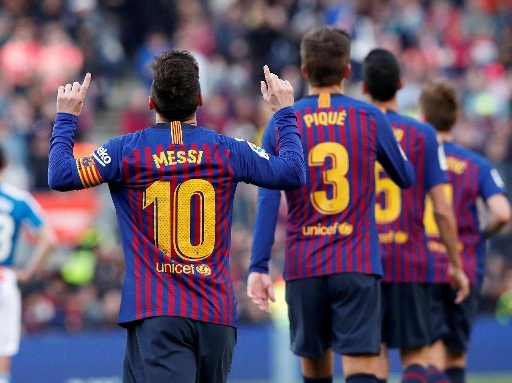 LaLiga Sisa 9 Pekan, Barcelona Tak Akan Beri Harapan ke Atletico dan Madrid