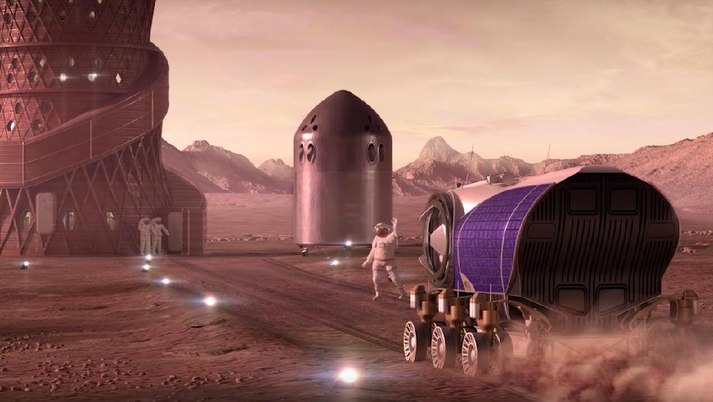 Rancangan Rumah Terbaik di Planet Mars Versi NASA