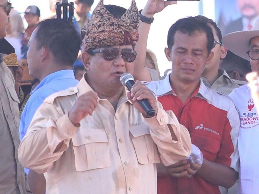 Prabowo soal Ekonomi 5% Ndasmu Dianggap Rendahkan Bangsa Sendiri