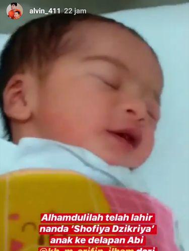 Makna Indah di Balik Nama Anak Kedelapan Ustaz Arifin Ilham