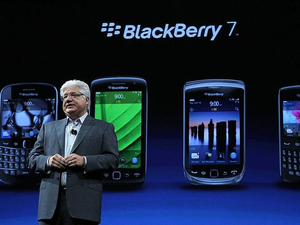 Ini Para Petinggi yang Gagal Selamatkan BlackBerry