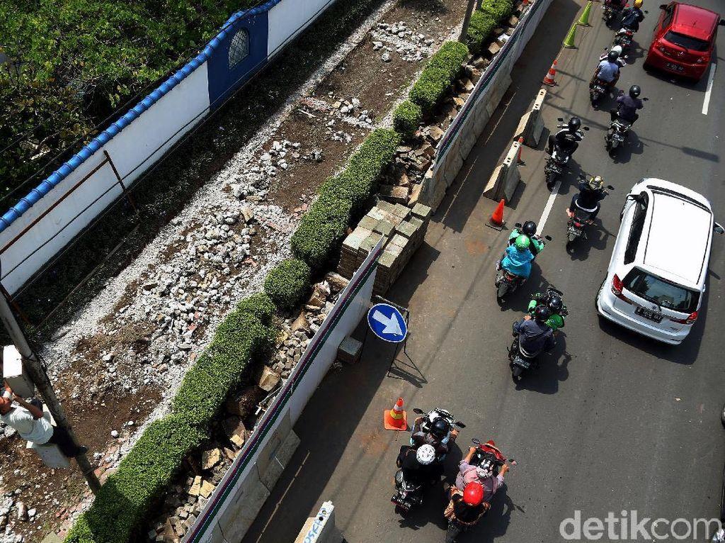 Asyik, Trotoar Gatot Subroto Akan Ditata Seperti Sudirman-Thamrin