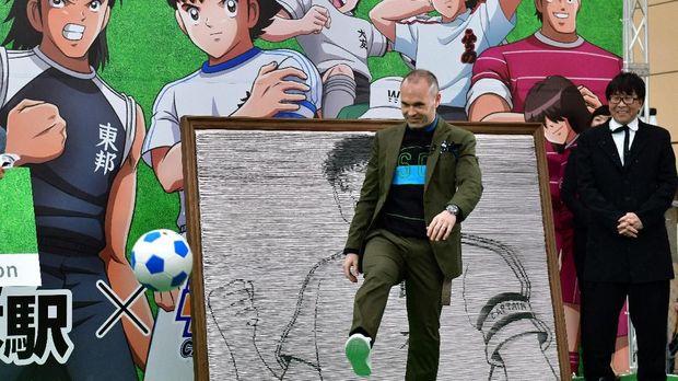 Andres Iniesta dianggap salah satu gelandang terbaik sepanjang sejarah.