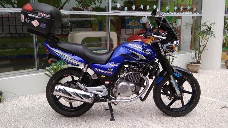 Suzuki Thunder 125 Bergaya Touring