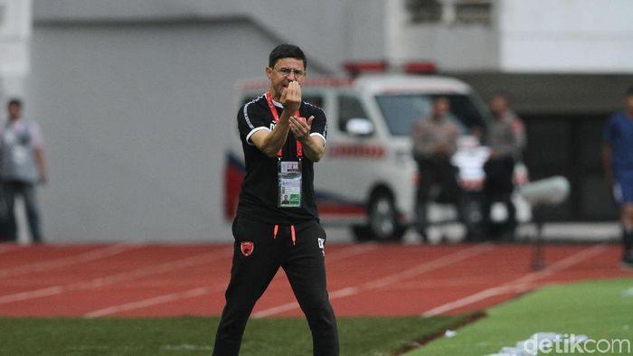 Pelatih PSM Darije Kalezic (Rifkianto Nugroho/detikSport)