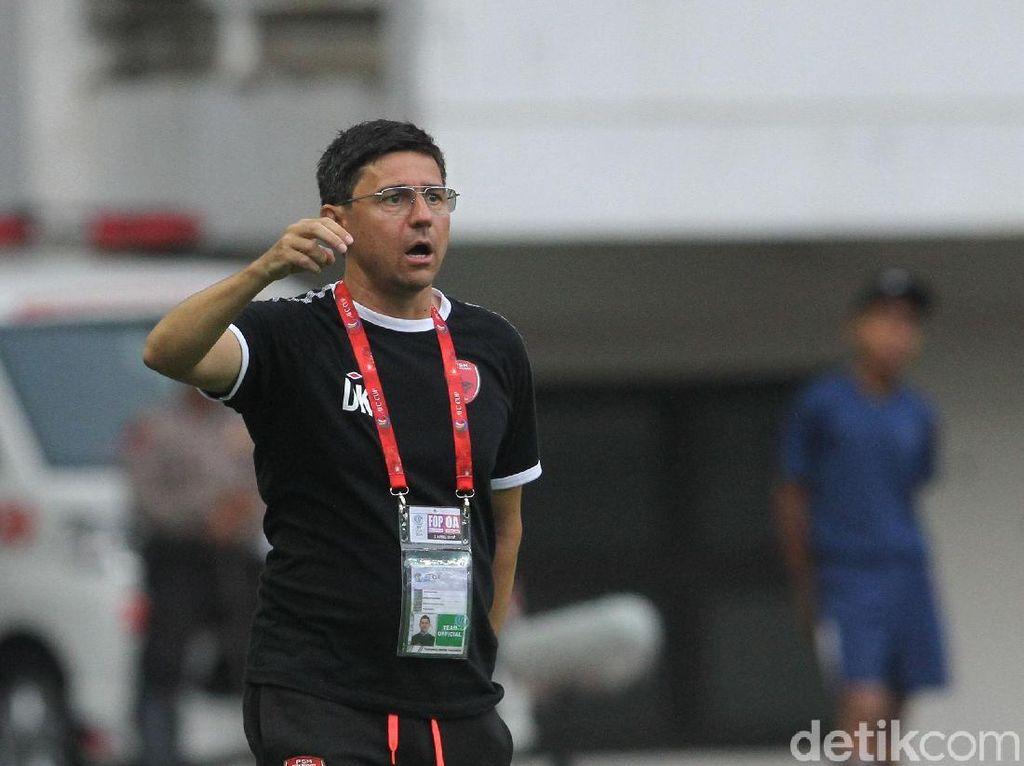 Kalezic Ingin Tinggalkan PSM dengan Kemenangan Atas Persib Bandung