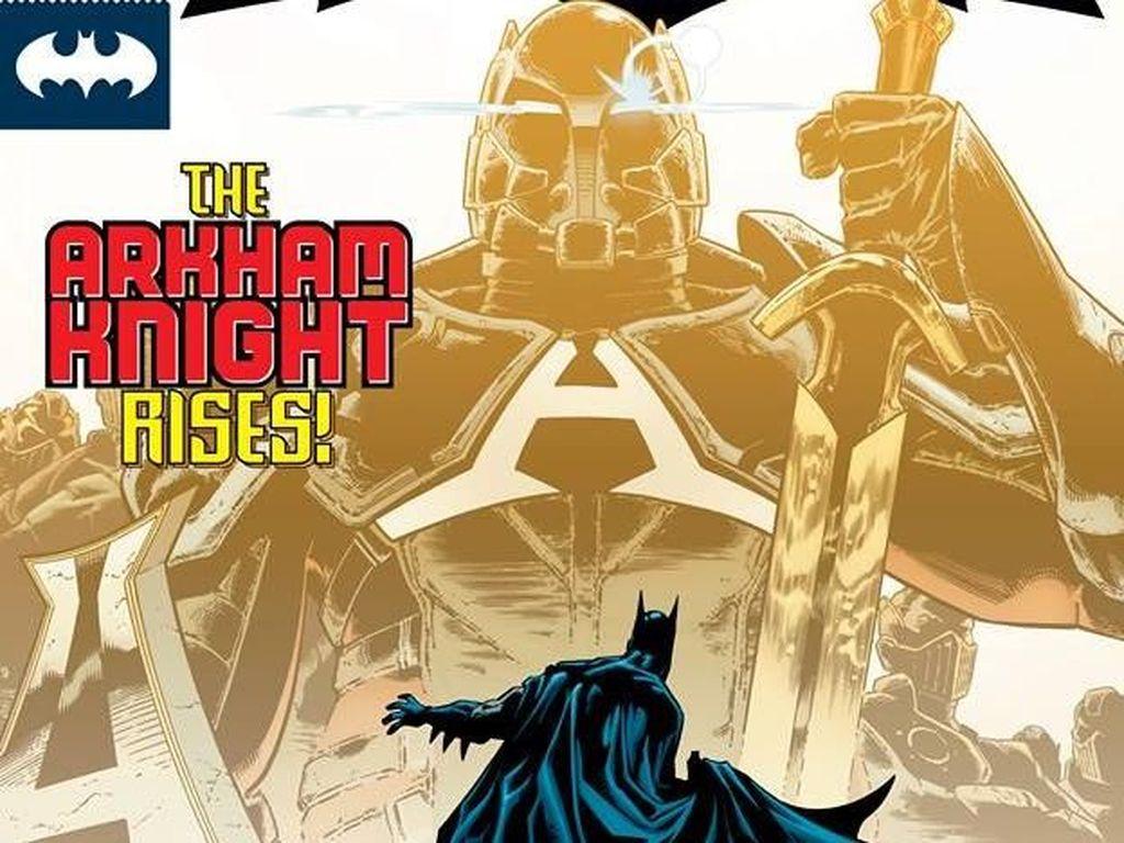 Batman Dibuat Logo Baru, Seperti Apa?