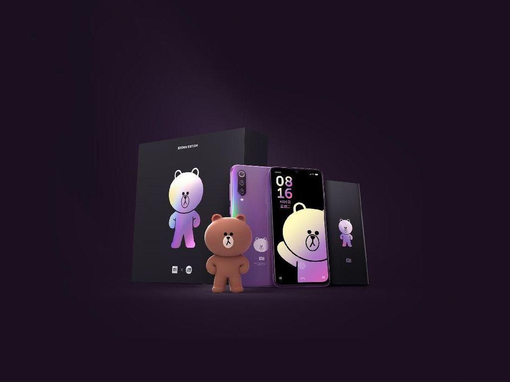 Penampakan Xiaomi Mi 9 Edisi Brown yang Menggemaskan