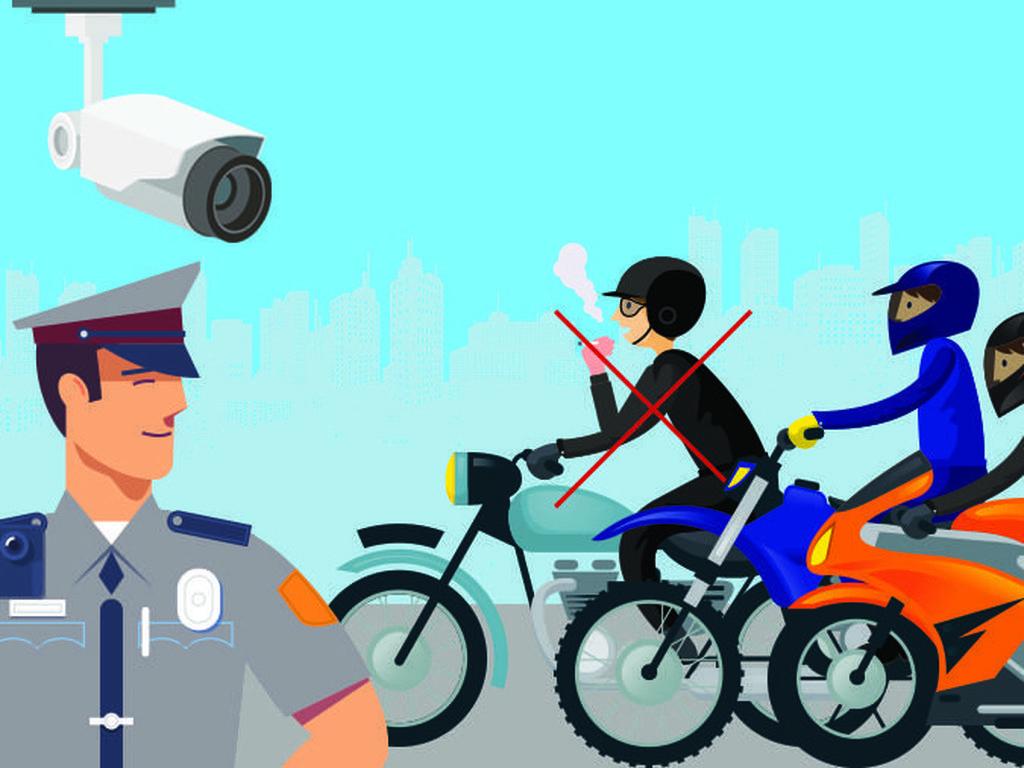 Bikers Harus Paham Etika di Jalan, Haram Meludah dan Merokok Saat Riding