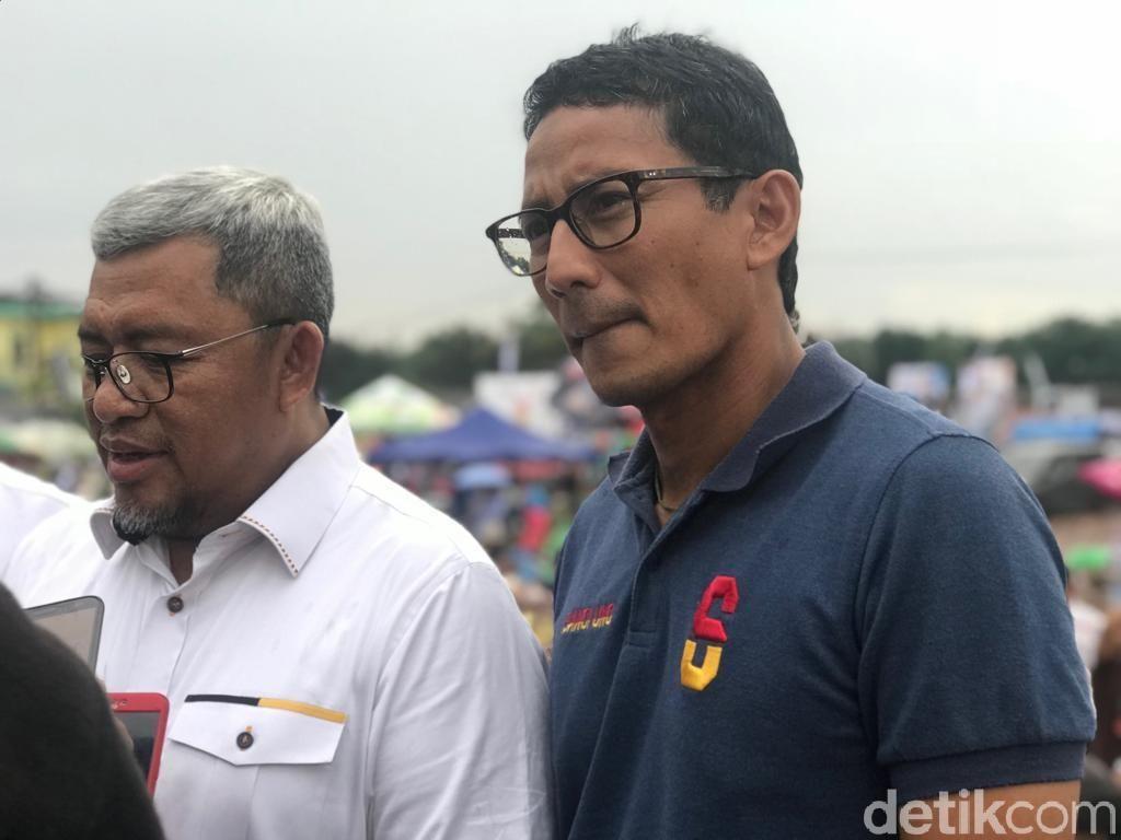 Soal Penghadangan Maruf, Sandiaga: Lebih Baik Khataman Alquran