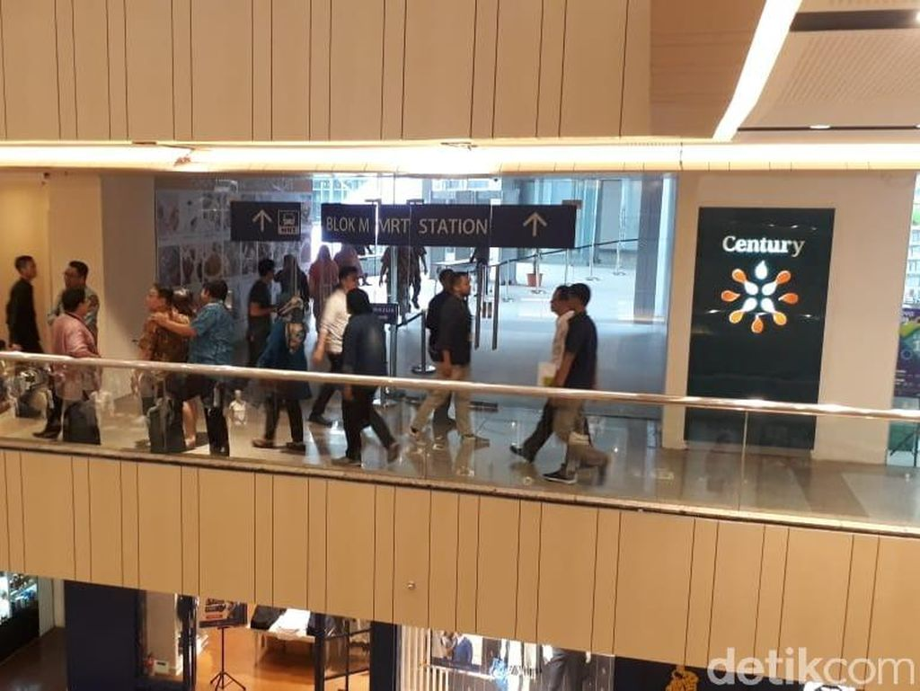 MRT Jakarta Bisa Bikin Pengunjung Blok M Plaza Meroket 100%