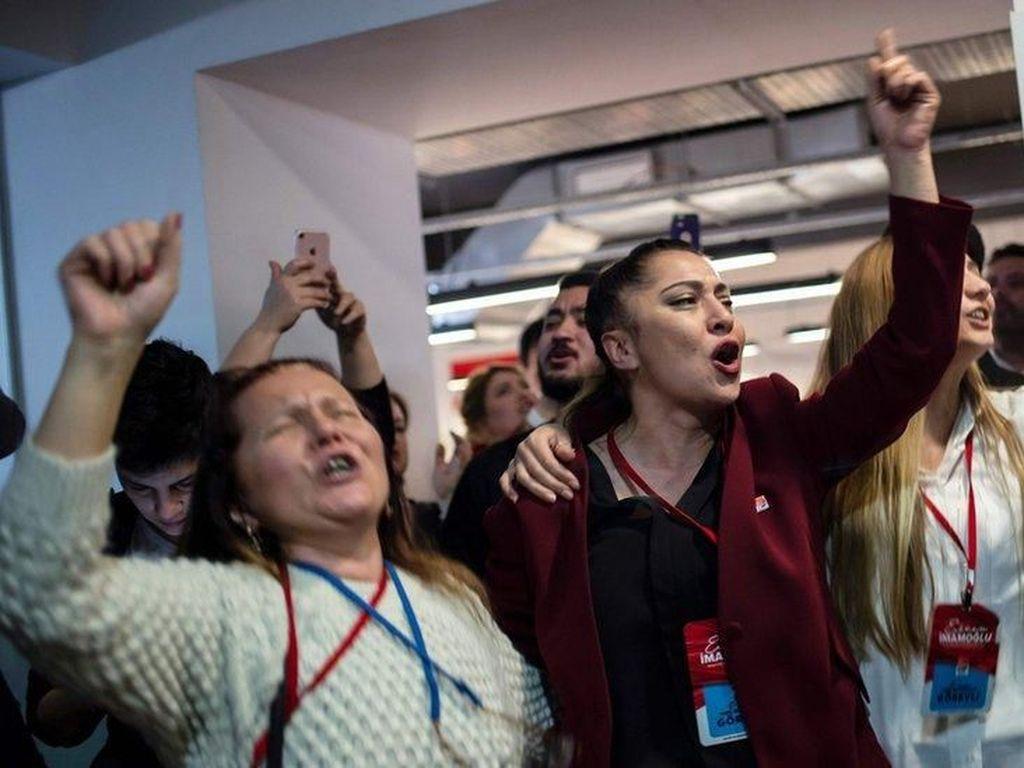 Partai Pimpinan Erdogan Tolak Hasil Pilkada Pasca-Kalah di Ankara