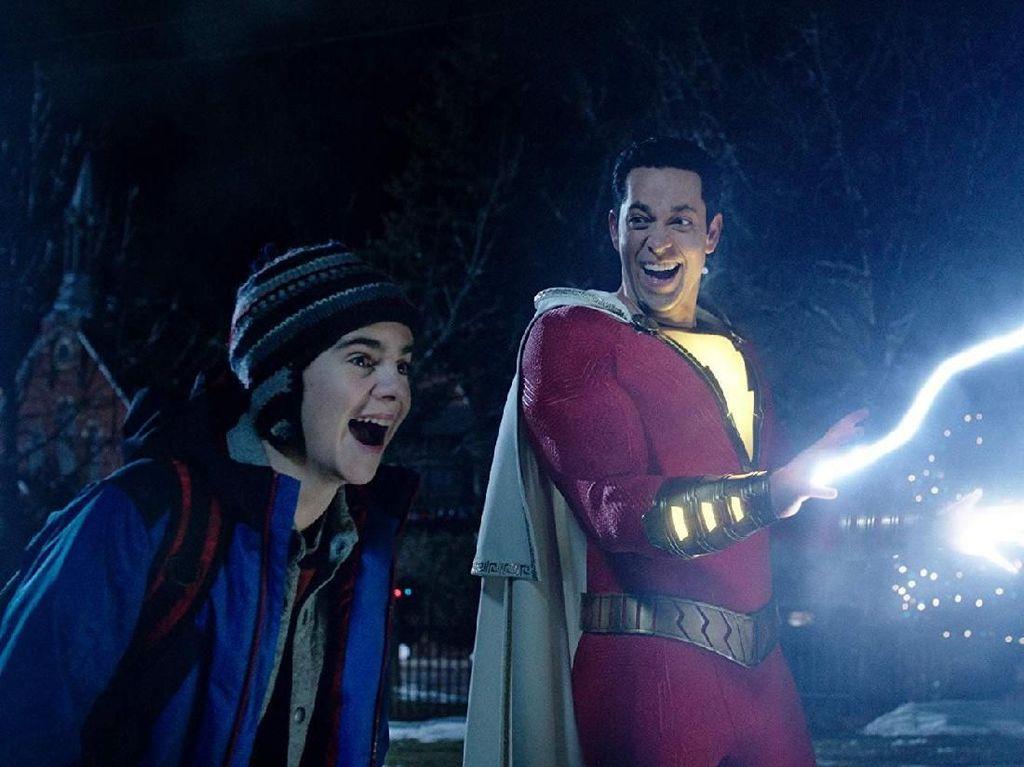 Shazam! di Peringkat Pertama, Geser Dumbo dari Takhta Box Office