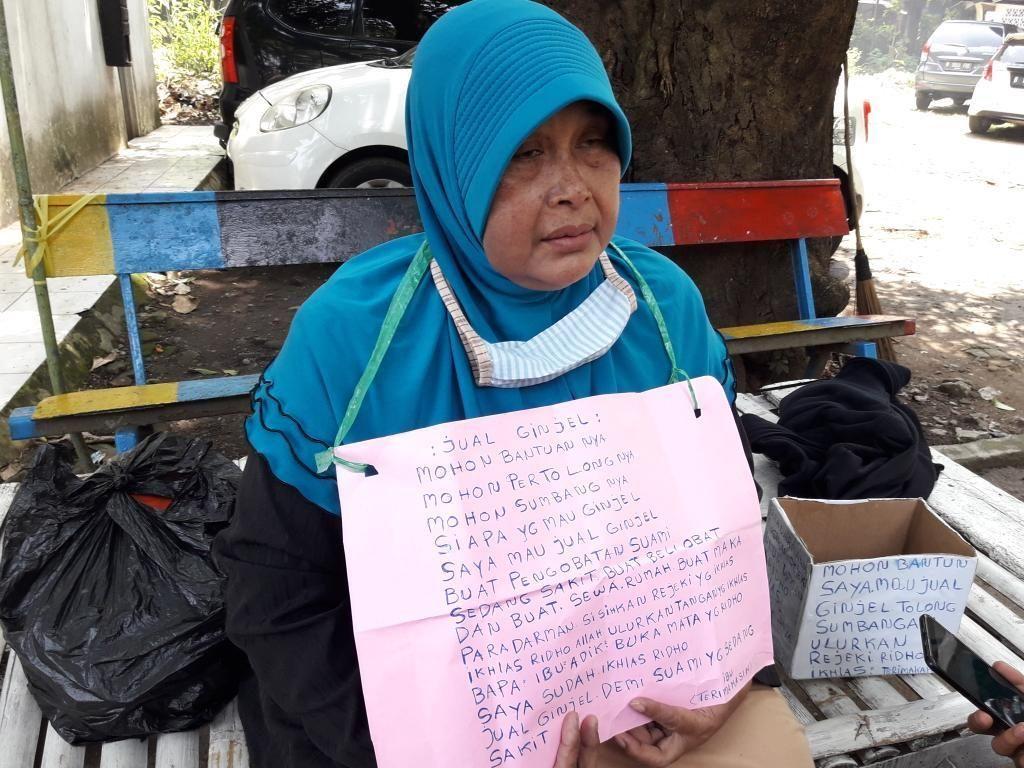 Tolong! Sumiati Hendak Jual Ginjal untuk Obati Suaminya yang Sakit