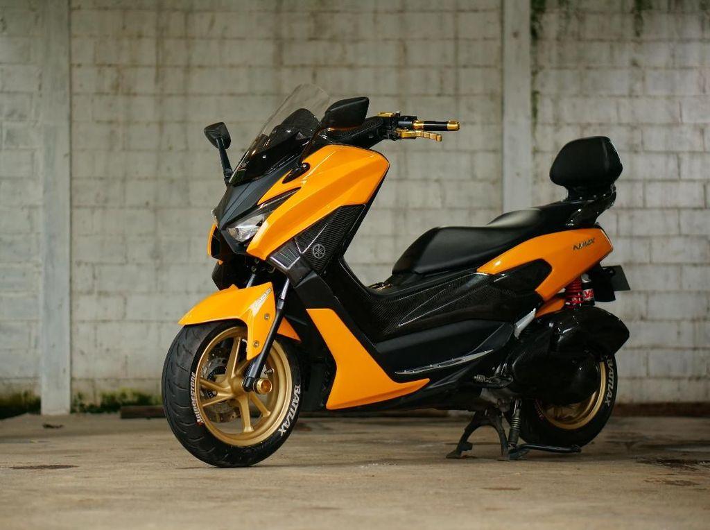 Seandainya Desain Yamaha NMAX Facelift Seperti Ini?