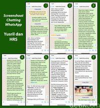 Yusril Ungkap Transkrip Lengkap 'Habib Rizieq Ragukan Keislaman Prabowo'