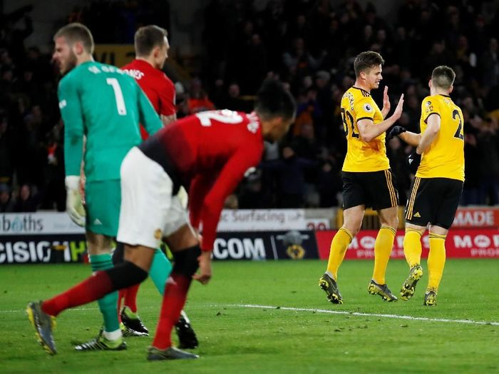 Image result for manchester united 1-2 wolverhampton