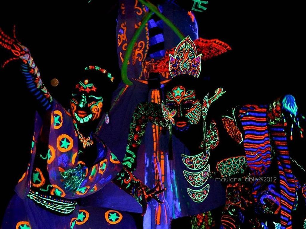 Rayu Milenial, Bangka Culture Wave 2019 Sajikan Glow in Nusantara