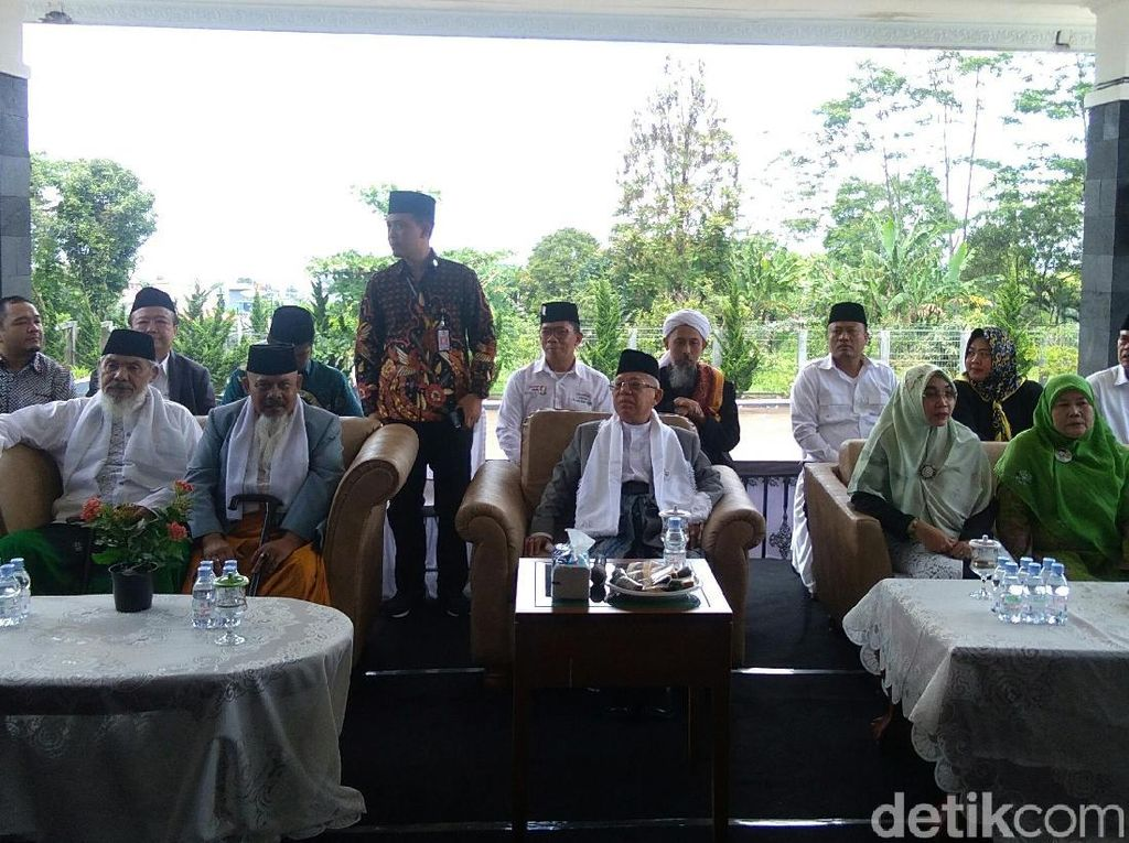 Maruf Amin: Insyaallah Sukabumi Mikraj, Jangan Isra Terus Nggak Naik-naik