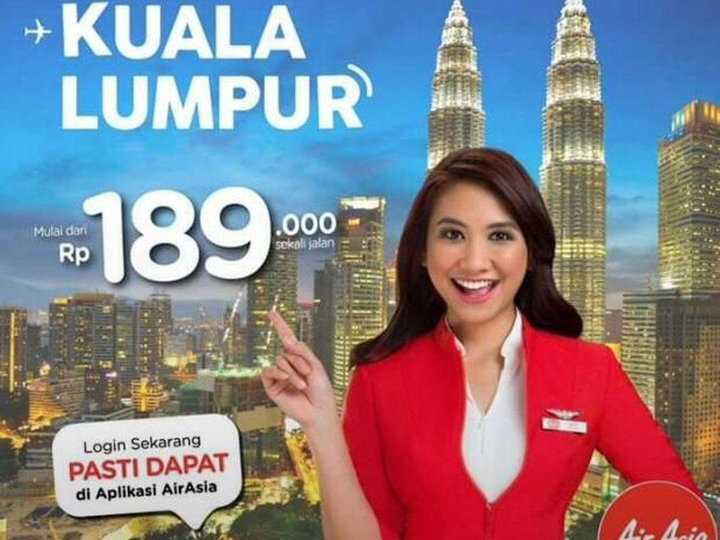 Ada Promo Pesawat Lagi Nih untuk Penerbangan Silangit - Kuala Lumpur