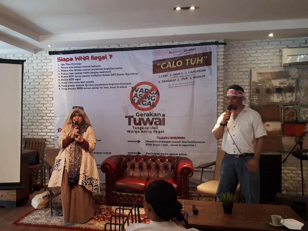 Cegah WNA Nyoblos di Pemilu 2019, Pro-Prabowo Bentuk Gerakan Tuwai