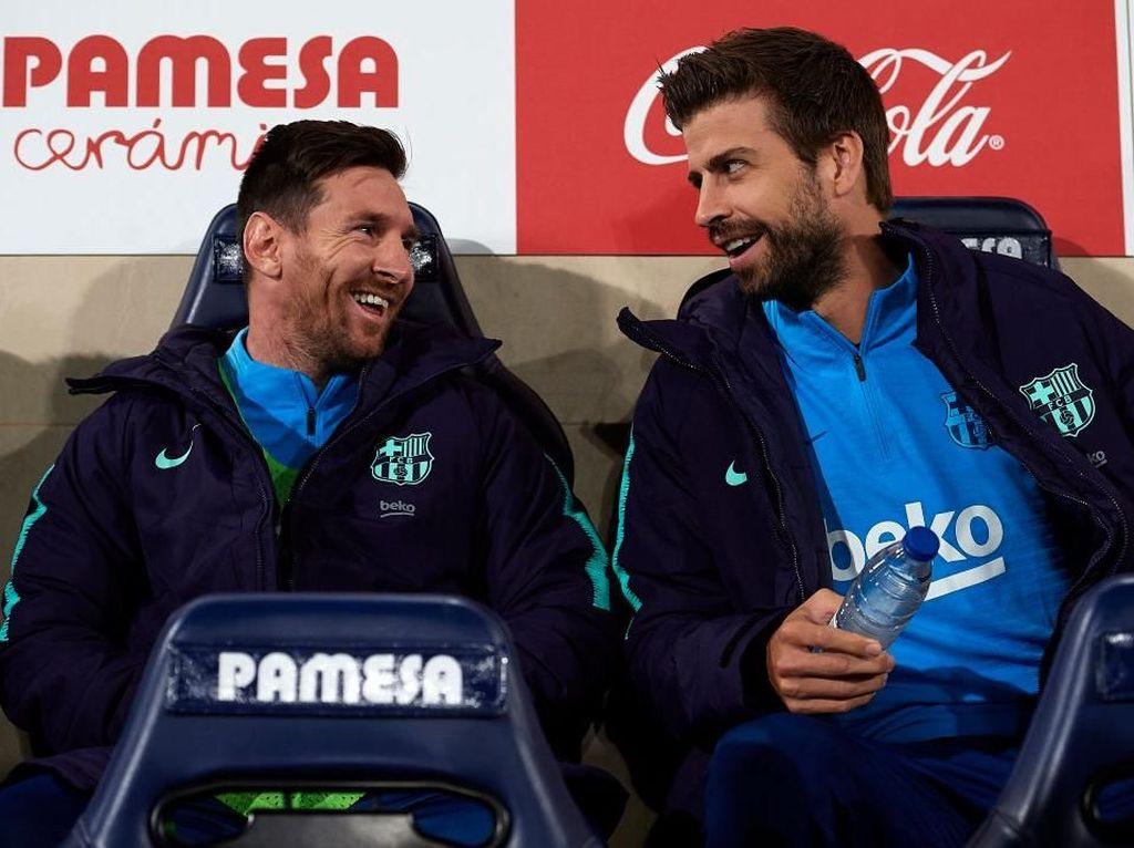 Ribut-Ribut Pique saat Barcelona Ditahan Villarreal