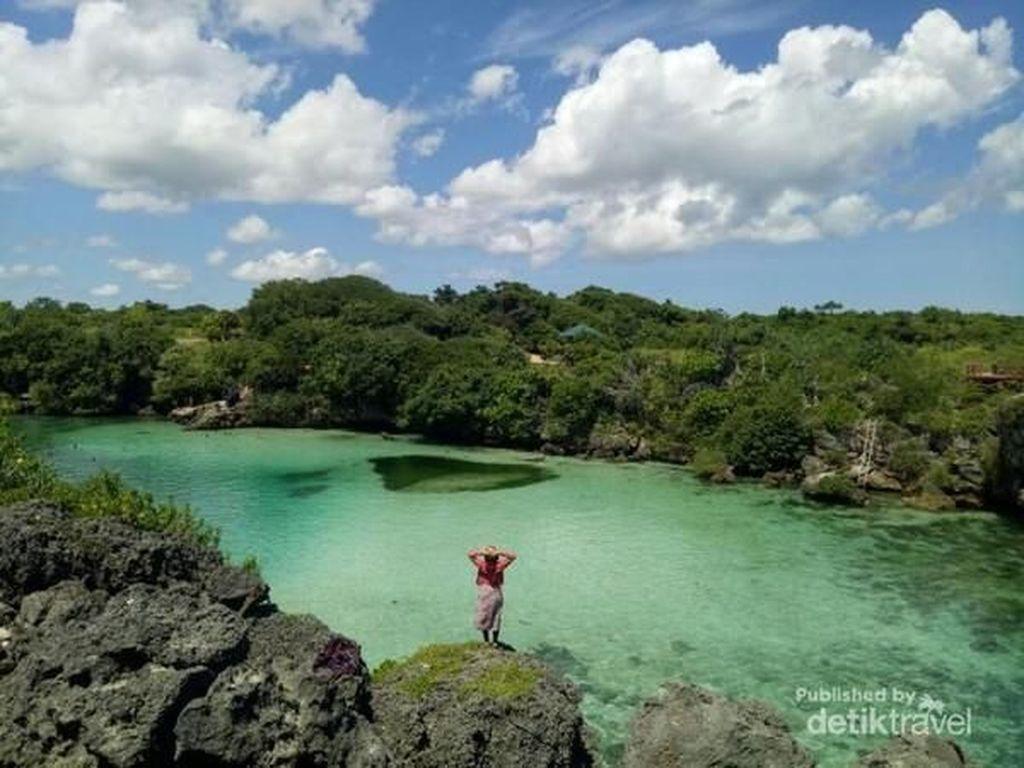 Seperti Ini Danau yang Cantik di Sumba